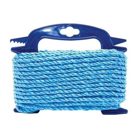 Faithfull FAIRB6020H Blue Poly Rope 6mm x 20m