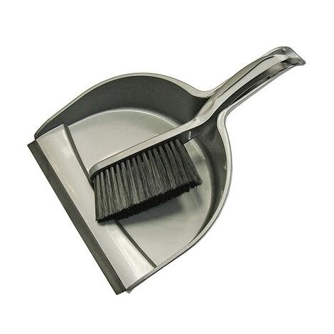 Faithfull FAIBRDUSTSET Dustpan & Brush Set Plastic