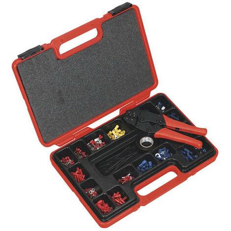 Sealey AK386 552pc Ratchet Crimping Tool Kit