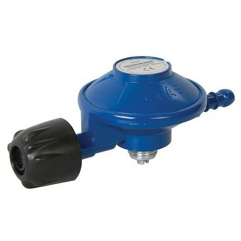 Silverline 973878 Butane Gas Regulator (Campingaz-Type) 29mbar