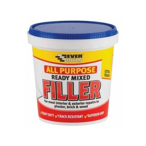 Everbuild RMFILL1 All Purpose Filler White 1kg