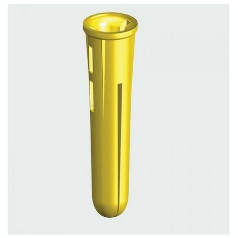 TIMco YPLUG Yellow Plastic Plug Box of 100