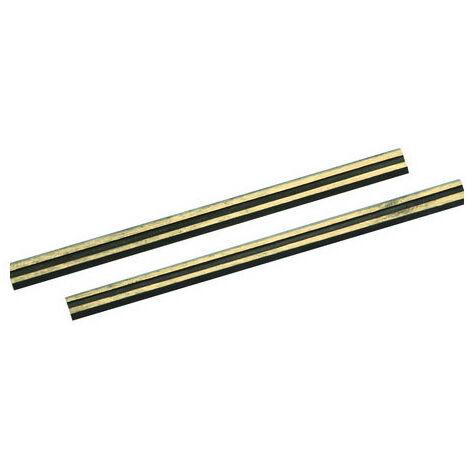 Silverline 125629 Tungsten Carbide Planer Blades 2pk 82 x 5.5 x 1.1mm