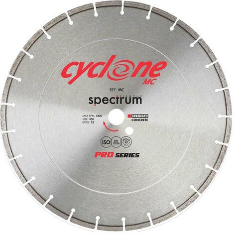 Spectrum MC350/25 PRO Cyclone Floor Saw Concrete 350mm Diamond Disc Blade