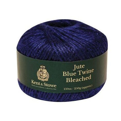 Kent & Stowe 70100820 Jute Twine Bleached Blue 150m 250g
