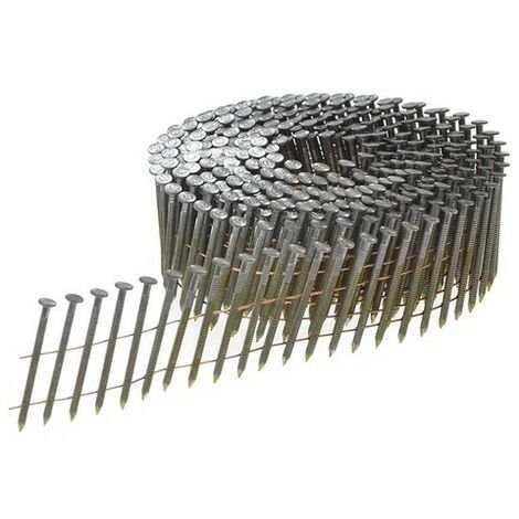Bostitch N230R50Q 2.3 x 50mm Coil Nails Ring Shank Bright Pack of 13200