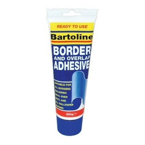 Bartoline 58509151 Border and Overlap Adhesive 250g Squeezy Tube
