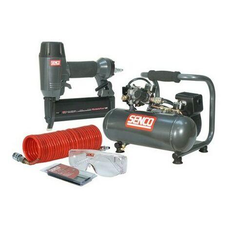 Senco PC0964UK1 Finish Pro 18 Pneumatic Nailer & 1 HP Compressor Kit 110 Volt