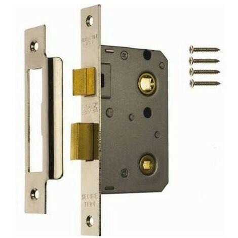 ERA 243-62 Bathroom Lock 67mm Chrome Plated