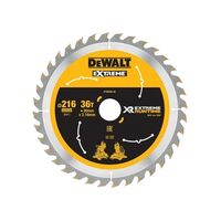 DeWalt DT99569-QZ Xtreme Runtime FlexVolt Circular Saw Blade 216mm x 30mm 36T