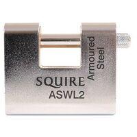 Squire ASWL2.KA K1 Steel Armoured Warehouse Padlock 80mm Keyed Alike