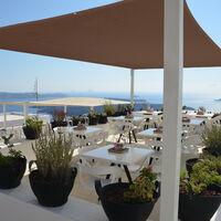 Toldo Vela Rectangular, 5 x 6 m, Repelente al agua, Protección UV, con Cuerdas, Terraza, Balcón, Color Marrón