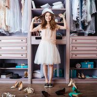 100 x Clothes Hanger Set, Pants Rail, Dresses, Skirt, Tie Holder, Non-Slip, 360° Swivel, White