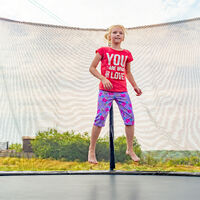 Relaxdays Trampoline Padded Surround, PVC Spring Cover, Trampoline Accessory, Ø 305 cm, Anthracite