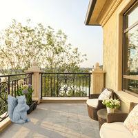 Relaxdays squirrel garden ornament, animal figurine, cast stone, 32x22x42 cm, weatherproof, detailed decoration, grey