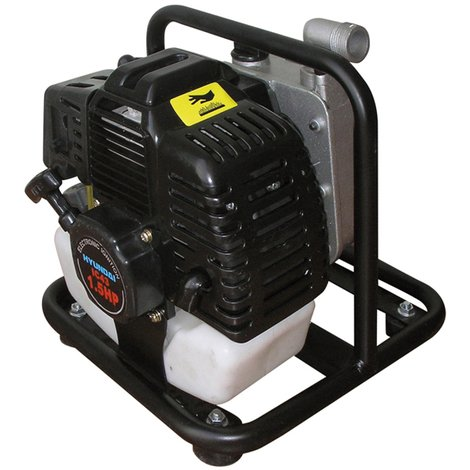 "HYUNDAI. Motobomba gasolina 1""/ 25mm, 7kg. Aguas limpias."