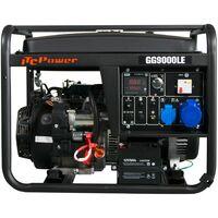 ITCPOWER - IT-GG9000LE Generador Gasolina 6,0/6,5 Kw con motor ITC Power IC420E de 15 hp. Arranque eléctrico. Panel digital 5 funciones