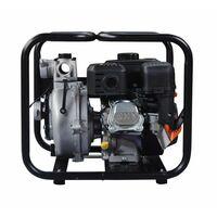 Motobomba IT-GPH50 gasolina, de aguas limpias de Alta presión, motor IC210 OHV, potencia 7,0 Hp, con un caudal de 30 m3/h (500L/min), y una altura máxima de 65 m y diámetro de aspiración y expulsión 50mm capacidad de combustible 3,6l.