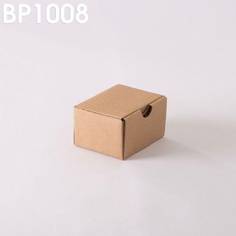 Lot de 500 Boîtes postales brunes 100x80x60 mm