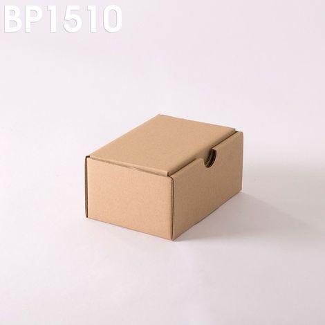 Lot de 25 Boîtes postales brunes 150x100x70 mm