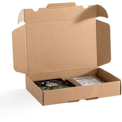 Lot de 5 Boîtes postales extra-plates A5 format 240x160x45 mm