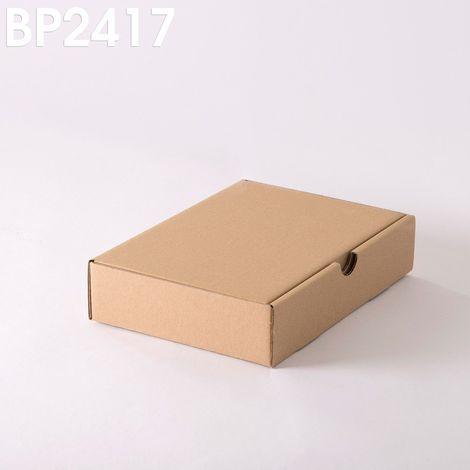 Lot de 500 Boîtes postales brunes 240x170x50 mm