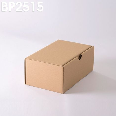 Lot de 25 Boîtes postales brunes 250x150x100 mm