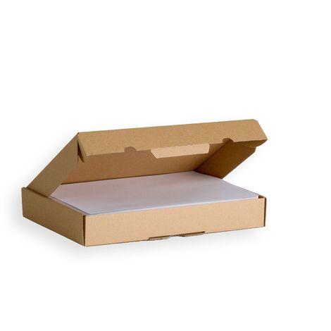 Lot de 5 Boîtes postales extra-plates A4 format 305x220x45 mm