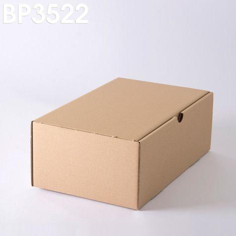 Lot de 5 Boîtes postales brunes 350x220x130 mm