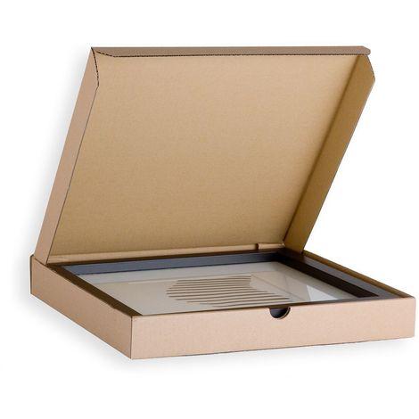 Lot de 10 Boîtes postale extra-plate format 400x400x50mm