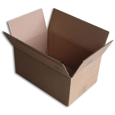 Lot de 25 Boîtes carton (N°26) format 260x170x120 mm