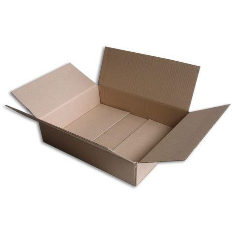 Lot de 5 Boîtes carton (N°52) format 400x300x80 mm