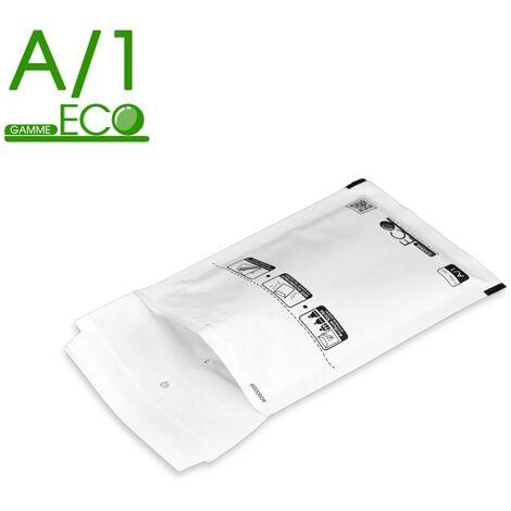 Lot de 400 Enveloppes à bulles ECO A/1 format 100x165 mm