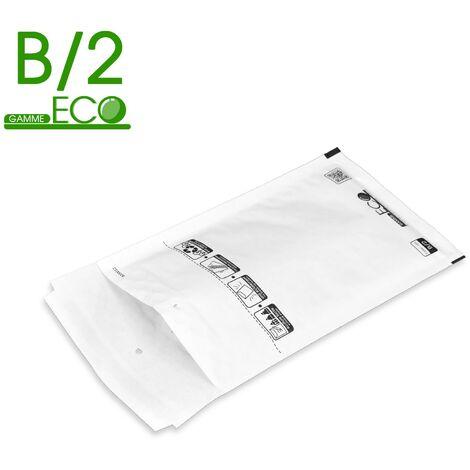 Lot de 400 Enveloppes à bulles ECO B/2 format 120x220 mm