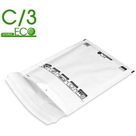 Lot de 100 Enveloppes à bulles ECO C/3 format 150x220 mm