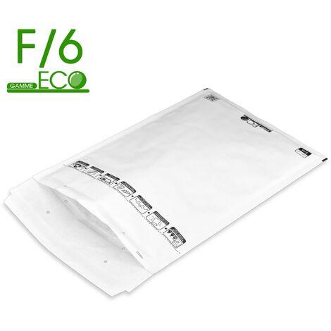 Lot de 100 Enveloppes à bulles ECO F/6 format 220x340 mm