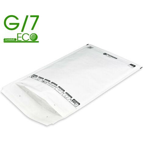 Lot de 100 Enveloppes à bulles ECO G/7 format 230x340 mm