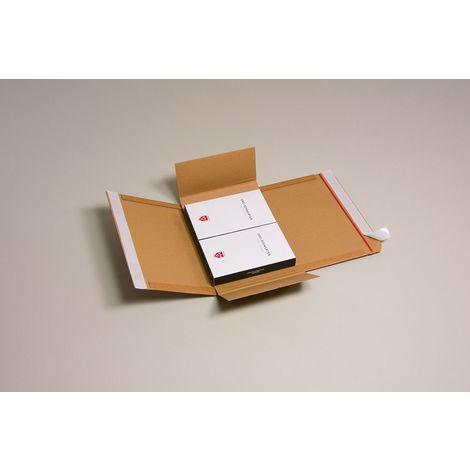 Lot de 5 Cartons adaptables Varia X-Pack 1 format 230x165x70 mm