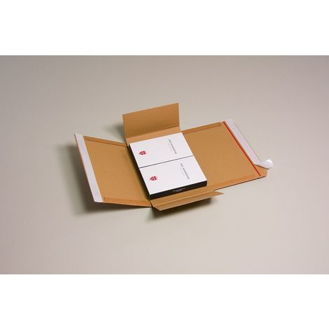 Lot de 5 Cartons adaptables Varia X-Pack 2 format 250x191x85 mm