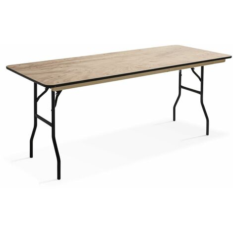 Table pliante 180 cm en bois