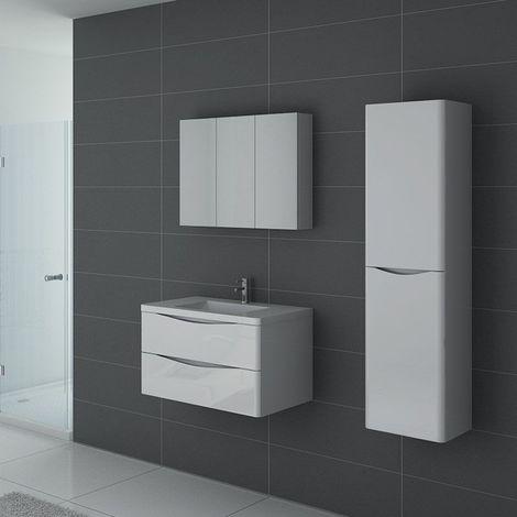 Meuble de salle de bain TREVISE 800 Blanc