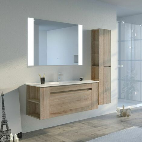 Meuble de salle de bain BOVALINO 1200 Scandinave
