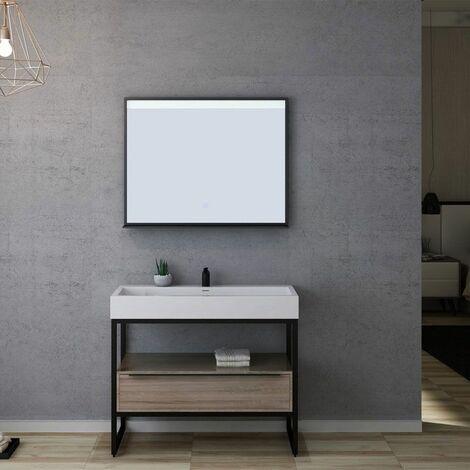 Meuble de salle de bain LAMEZIA 1000 Scandinave
