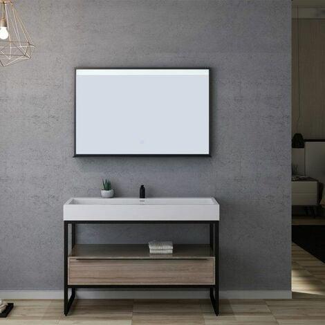 Meuble de salle de bain LAMEZIA 1200 Scandinave