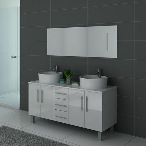 Meuble de salle de bain DIS989 Blanc