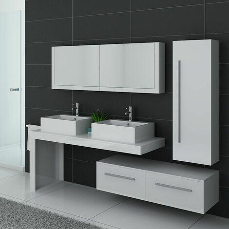 Meuble de salle de bain DIS9350 Blanc