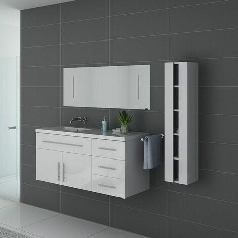 Meuble de salle de bain URBAN Blanc