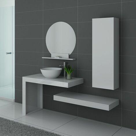 Meuble de salle de bain Monza Blanc