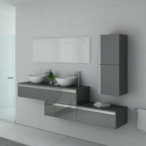 Meuble de salle de bain DOLCE VITA Gris Taupe