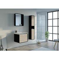 Meuble de salle de bain LUMARZO 600SC-N
